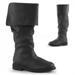 Robin Hood Renaissance Black Boots Step Out of Time Steampunk and More Steampunk Costumes, Victorian Clothing, Pirate Costumes, Renne Faire Clothing