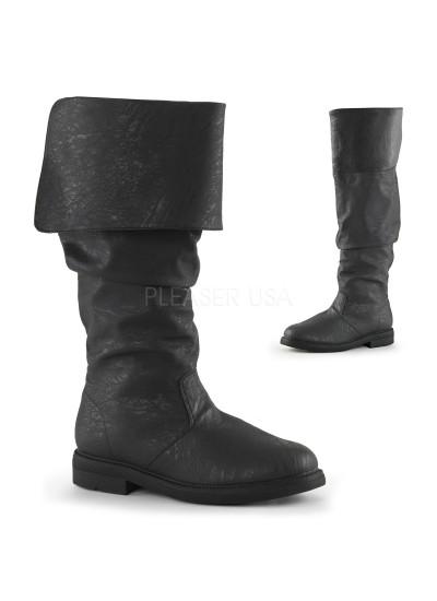 Robin Hood Renaissance Black Boots