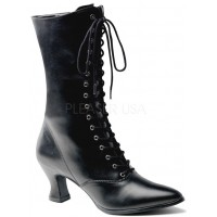 Black Victorian Ankle Boot