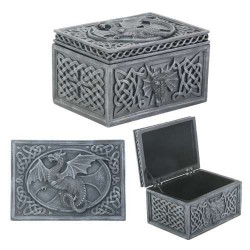 Dragon Celtic Jewelry Box Step Out of Time Steampunk and More Steampunk Costumes, Victorian Clothing, Pirate Costumes, Renne Faire Clothing