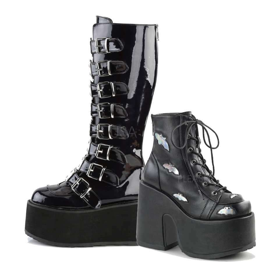 Demonia Gothic Boots, Goth Shoes